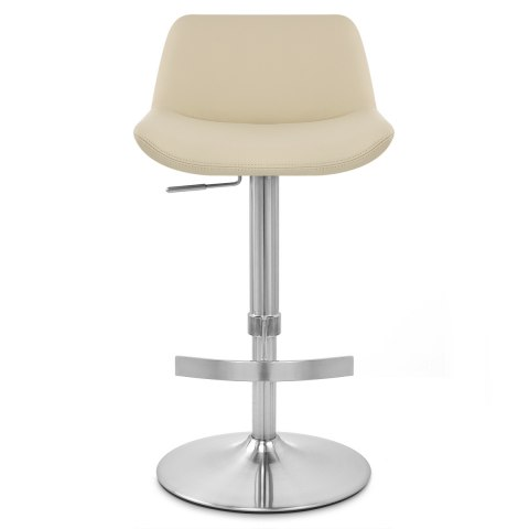 Christiana Brushed Stool Cream