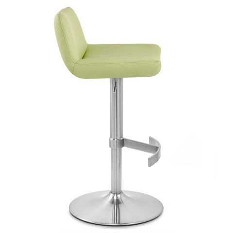 Christiana Brushed Stool Lime Green