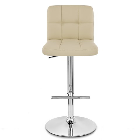 Grid Bar Stool Cream