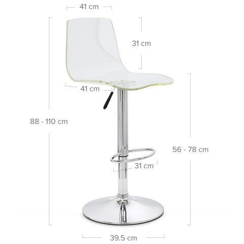 ... Odyssey Acrylic Stool Clear ...  sc 1 st  Atlantic Shopping & Odyssey Acrylic Stool Clear - Atlantic Shopping islam-shia.org