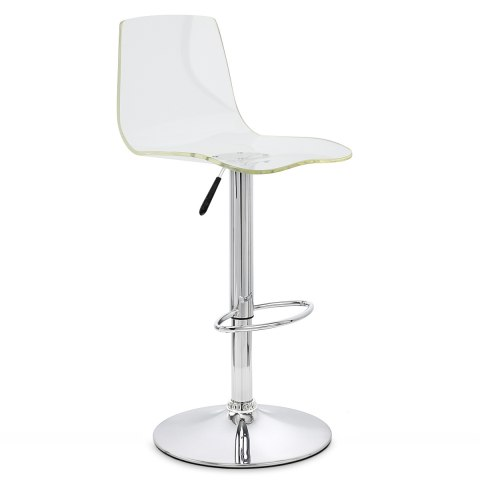 odyssey acrylic stool clear