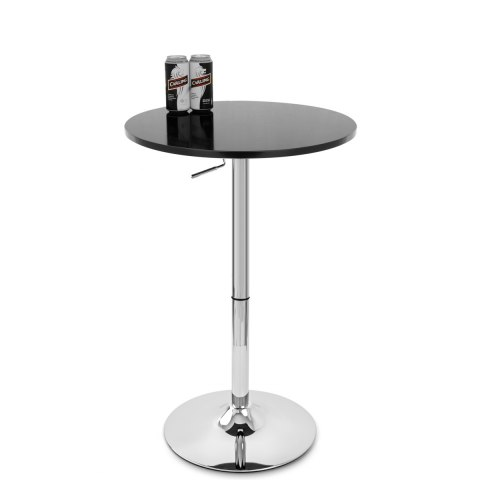 Ambassador Gas Lift Bar Table Black
