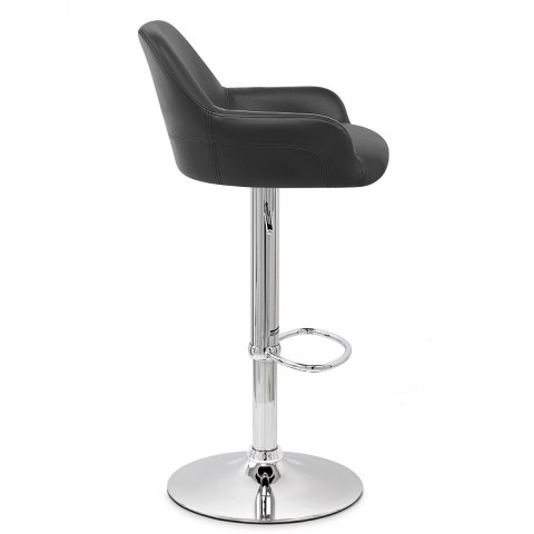 Sassi Bar Stool Black