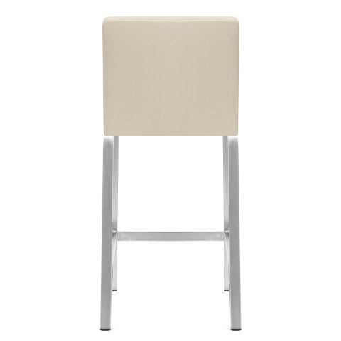 Leah Brushed Stool Cream