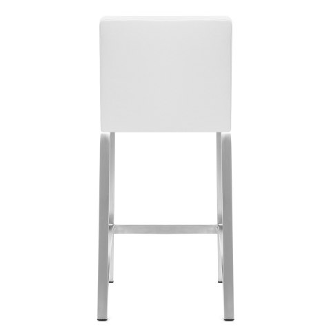 Leah Brushed Stool White