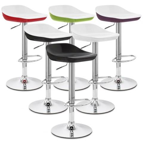 Reflex Bar Stool Black