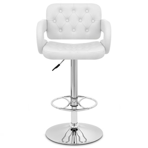 white bar stools polaris bar stool white atlantic shopping 29648