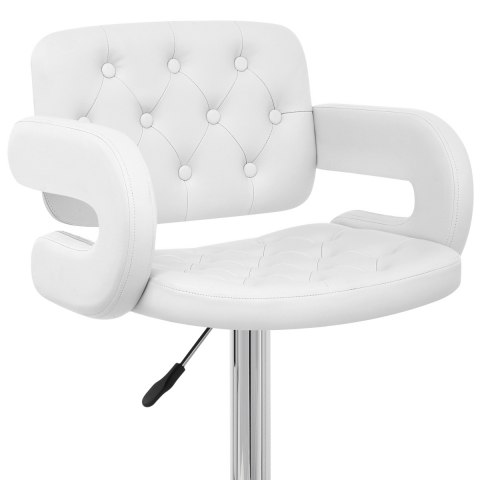 Polaris Bar Stool White