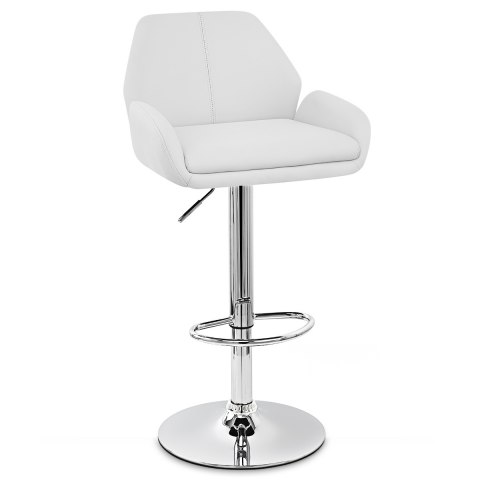 Manhattan Bar Stool White