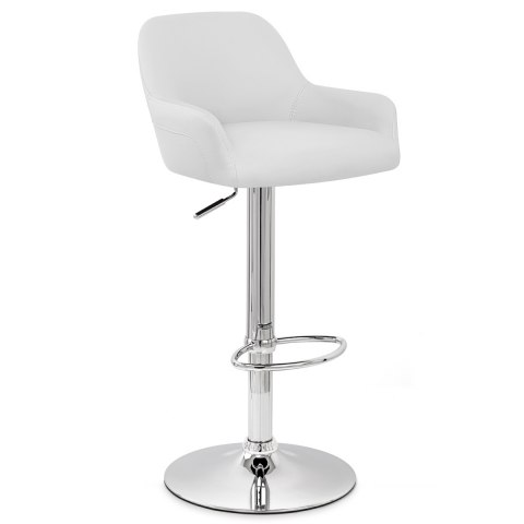 Sassi Bar Stool White