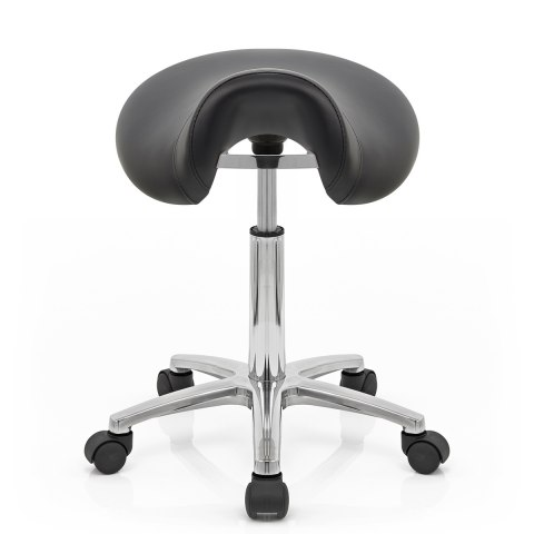 Deluxe Saddle Stool Black