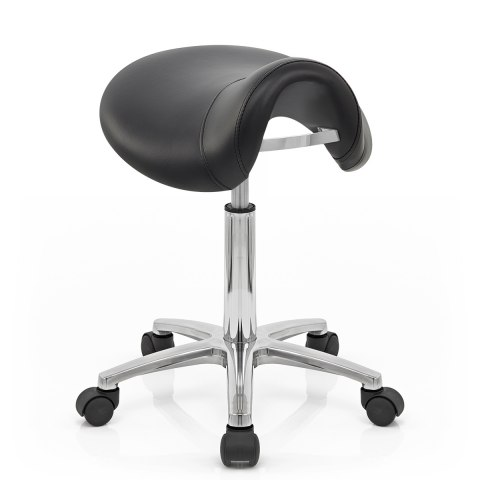 Deluxe Saddle Stool Black Atlantic Shopping