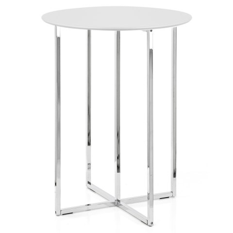 Scope Bar Stools & Table White