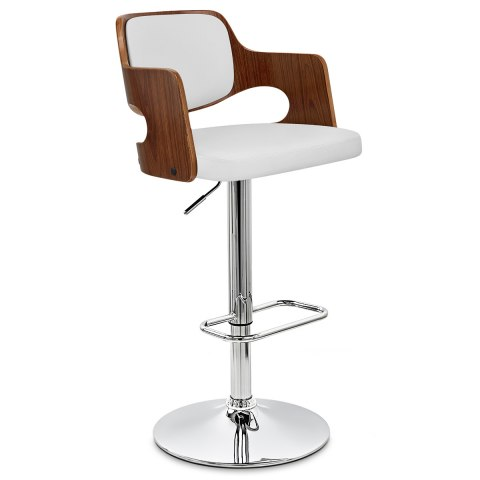 Amazon Walnut Bar Stool White Atlantic Shopping