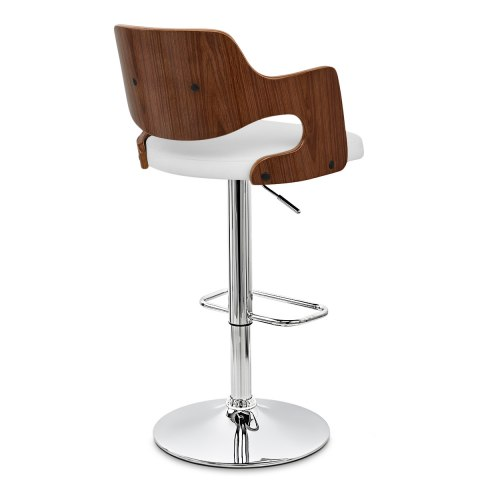 Amazon walnut bar stool white atlantic shopping - Amazon bedroom chairs and stools ...