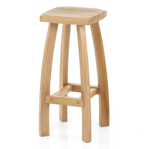 Oslo Oak Bar Stool