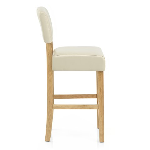 sydney oak bar stool cream atlantic shopping