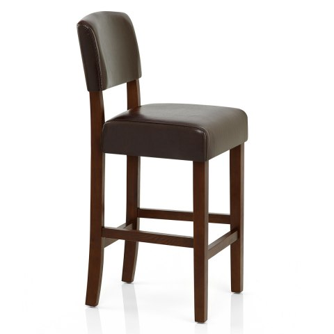 Sydney Walnut Bar Stool Brown