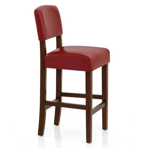 sydney walnut bar stool red atlantic shopping