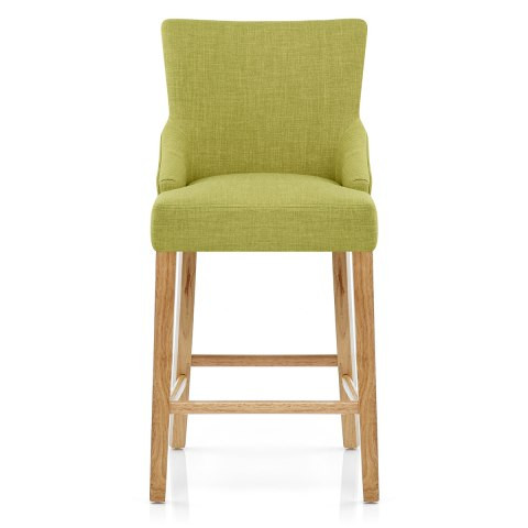 magna oak green fabric bar stool atlantic shopping. Black Bedroom Furniture Sets. Home Design Ideas