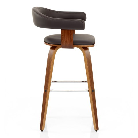 ontario walnut bar stool brown atlantic shopping. Black Bedroom Furniture Sets. Home Design Ideas