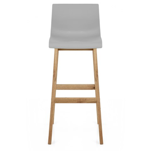 Drift Oak Amp Grey Bar Stool Atlantic Shopping