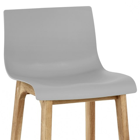 Drift Oak & Grey Bar Stool