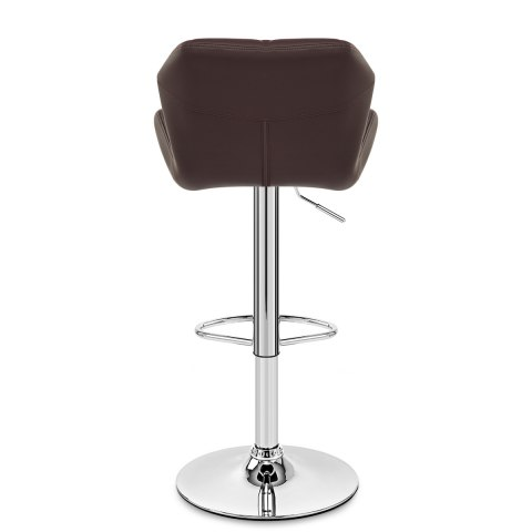 Diamond Bar Stool Brown