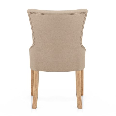 Verdi Chair Oak & Beige