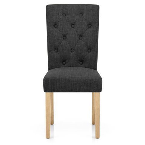 Vigo Chair Oak & Grey
