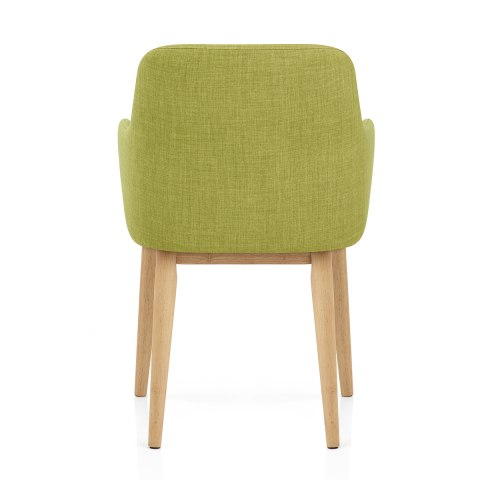 Albany Dining Chair Green Fabric
