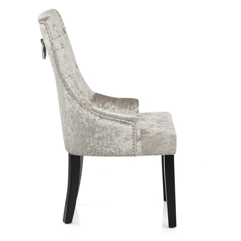 Ascot Dining Chair Mink Velvet Atlantic Shopping