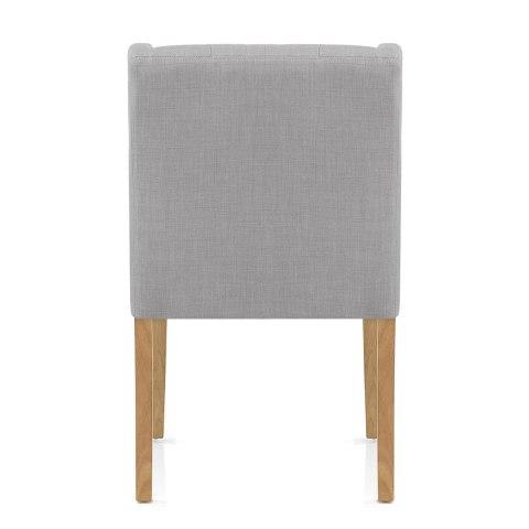 Chatsworth oak dining chair grey atlantic shopping - Atlantic shopping dining chairs ...