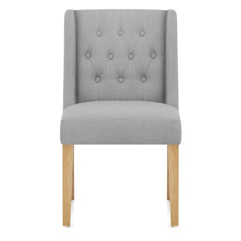 Chatsworth Oak Dining Chair Grey