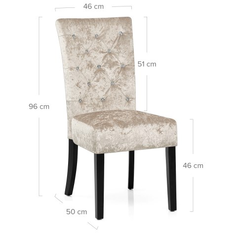 Roxy Dining Chair Beige