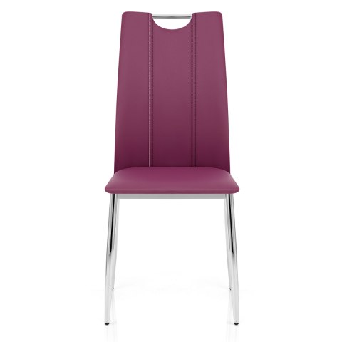 Hugo Dining Chair Purple Atlantic Shopping
