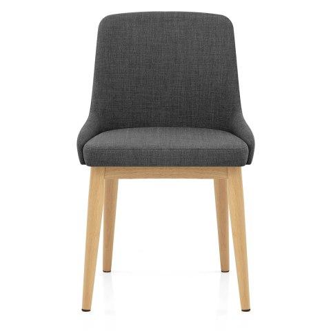 Jersey dining chair oak charcoal atlantic shopping - Atlantic shopping dining chairs ...