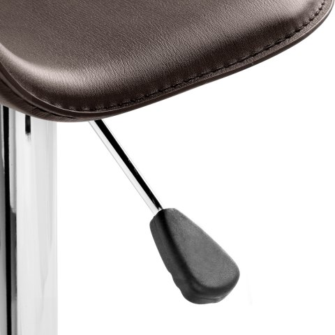 Cap Chrome Stool Brown
