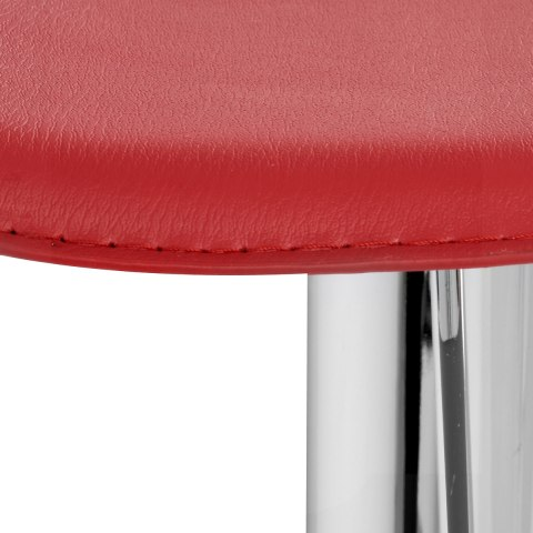 Cap Chrome Stool Red