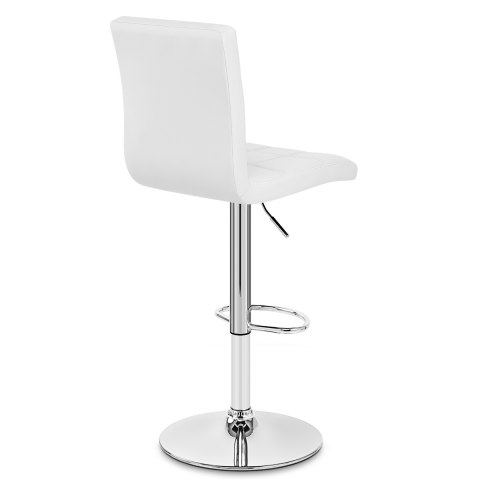 Criss Cross Bar Stool White Atlantic Shopping