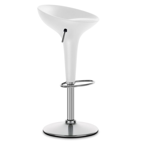 Bombo Bar Stool White