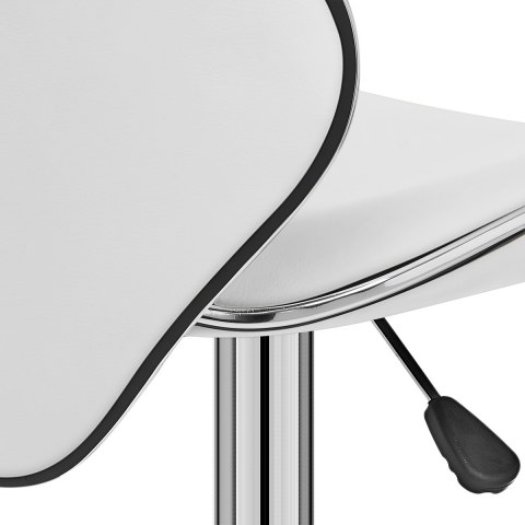 Duo Bar Stool White