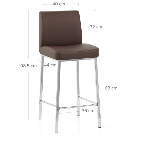 Pacino Stool Brown