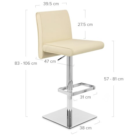 Siena Bar Stool Cream