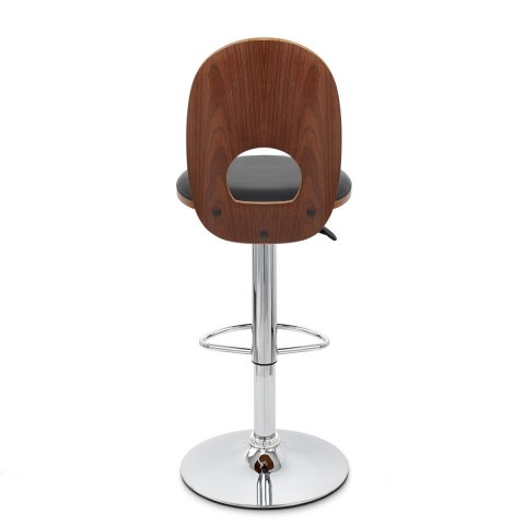 Bolero Wooden Stool Black Atlantic Shopping