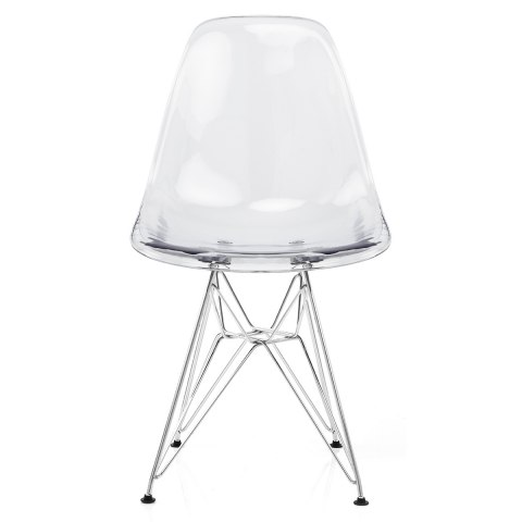 Eames Style DSR Chair Clear