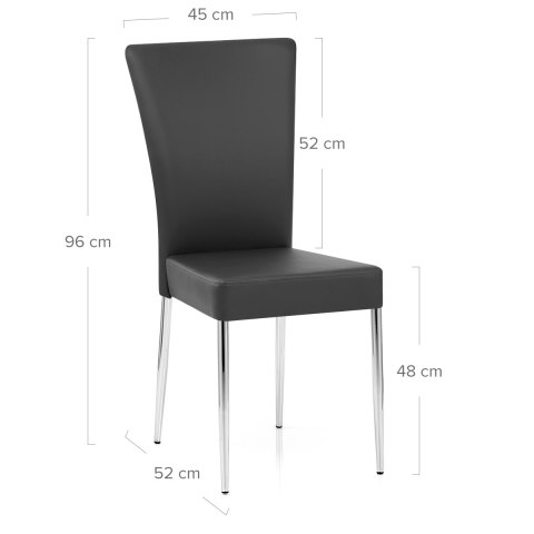 Picasso Dining Chair Black