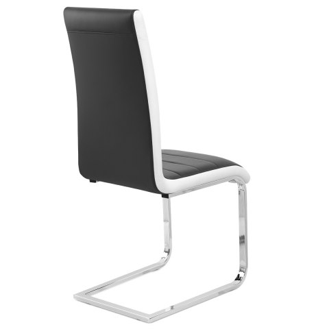 Renoir Dining Chair Black Amp White Sides Atlantic Shopping