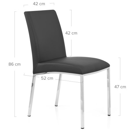Melton Dining Chair Black