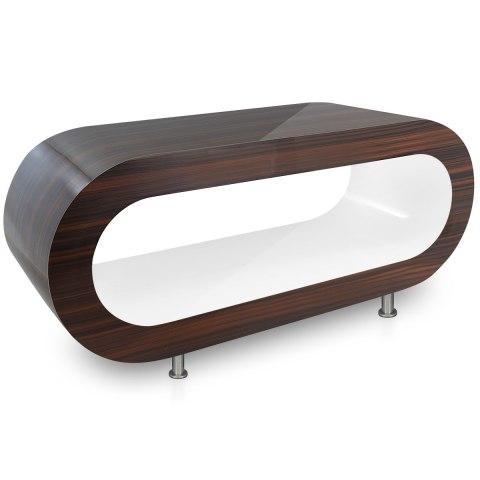 walnut orbit coffee table white inner atlantic shopping